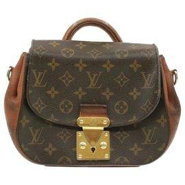 Louis Vuitton-Louis Vuitton Shoulder Bag-Brown