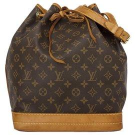 Louis Vuitton-Louis Vuitton Brown Monogram Noe-Brown