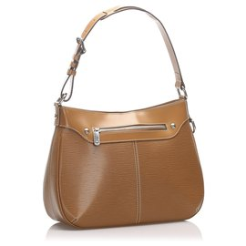 Louis Vuitton-Louis Vuitton Brown Epi Turenne GM-Brown,Light brown