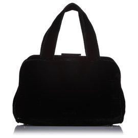 Prada-Prada Black Wool Handbag-Black