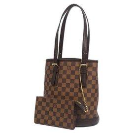 Louis Vuitton-Louis Vuitton Marais Womens shoulder bag N42240 damier ebene-Damier ebene