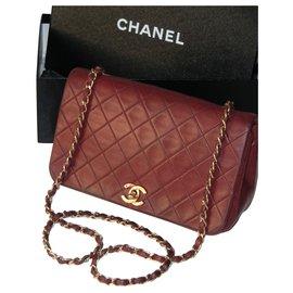 Chanel-Sac Mademoiselle Chanel-Bordeaux