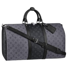 Louis Vuitton-LV Keepall eclipse reverse-Grey