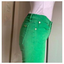 Ralph Lauren-Jean skinny vert-Vert