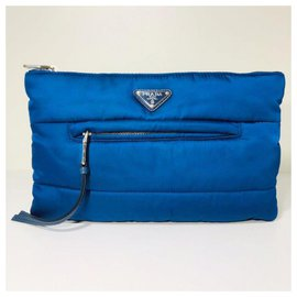 Prada-Clutch bags-Navy blue