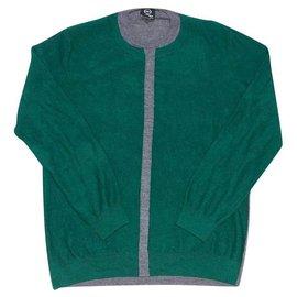 Alexander Mcqueen-Sweaters-Dark green