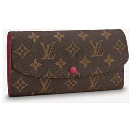 Louis Vuitton-LV Emilie wallet new-Brown