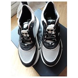 Karl Lagerfeld-La Aventur Lux Lthr Lace Shoe-Multicolore