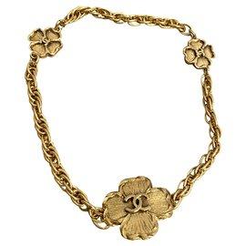 Chanel-Necklaces-Golden