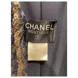 Chanel-Jackets-Green,Navy blue