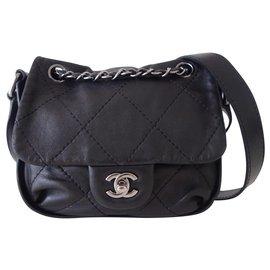 Chanel-SAC CHANEL CLASSIQUE PM-Noir