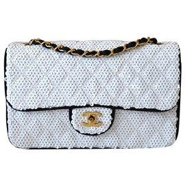 Chanel-Sacs à main-Noir,Blanc