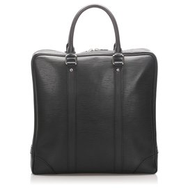Louis Vuitton-Louis Vuitton Black Epi Vivienne MM-Black