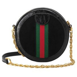 Gucci-Gucci Red Small Arli Crossbody Bag-Red,Dark red