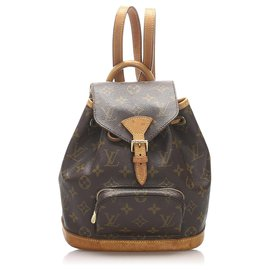 Louis Vuitton-Louis Vuitton Monogram Mini Montsouris-Marron