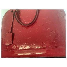 Louis Vuitton-Louis Vuitton alma vernis PM-Pink