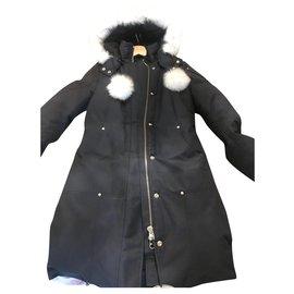 Moose Knuckles-Manteaux, Vêtements d'extérieur-Bleu Marine