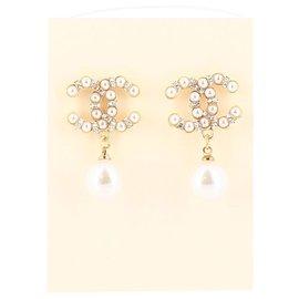 Chanel-Chanel earring-Golden