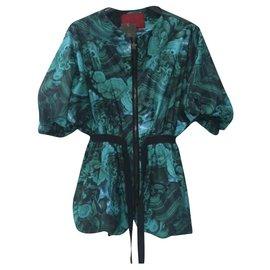 Moncler-Moncler Multicolor Windcoat Vest Jacket Sz. 0 auth-Multiple colors