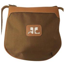 Courreges-Nice Courrèges shoulder bag NEW-Caramel