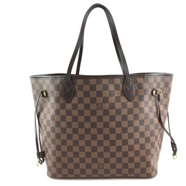 Louis Vuitton-Toile Louis Vuitton Neo Neverfull MM Damier Ebene-Marron