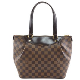 Louis Vuitton-Toile Louis Vuitton Westminster PM Damier Ebene-Marron