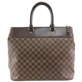 Louis Vuitton-Louis Vuitton Greenwich PM Damier Ébène Toile-Marron