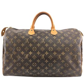 Louis Vuitton-Louis Vuitton Speedy 40 Toile monogramme-Marron