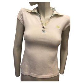 Burberry-White polo shirt-White