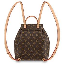 Louis Vuitton-LV Montsouris PM Monogram new-Brown