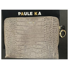 Paule Ka-Tablet pocket-Grey