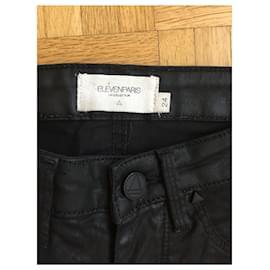 Eleven Paris-Jeans slim Eleven Paris-Noir