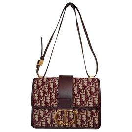 Christian Dior-Handbags-Dark red