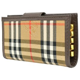 Burberry-burberry wallet-Brown