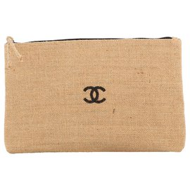 Chanel-Chanel clutch bag-Brown