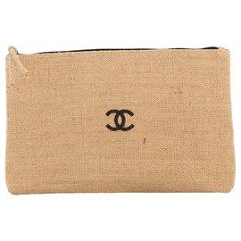 Chanel-Sac pochette  Chanel-Marron