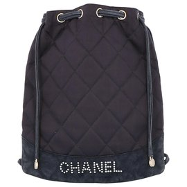 Chanel-Sac à dos Chanel neuf-Bleu