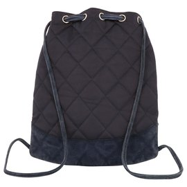 Chanel-Chanel backpack-Blue