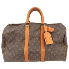 Louis Vuitton-Louis Vuitton Keepall 45-Marron