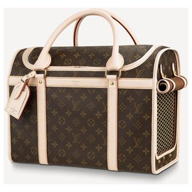 Louis Vuitton-LV Dog carrier new-Brown