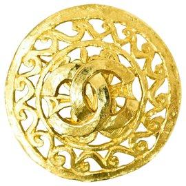 Chanel-Chanel brooch-Golden