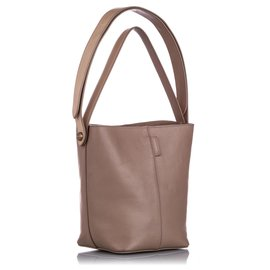 Mulberry-Mulberry Brown Small Kite Leather Satchel-Brown,Beige