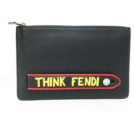Fendi-Fendi Clutch bag-Black