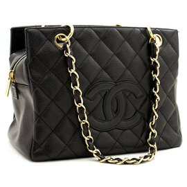 Chanel-Chanel shopping-Noir