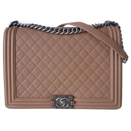 Chanel-SAC CHANEL BOY GM-Caramel