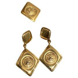 Chanel-Jewellery sets-Golden