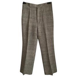 Céline-Un pantalon, leggings-Gris