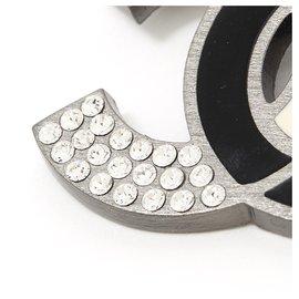 Chanel-CC BLACK WHITE-Silvery