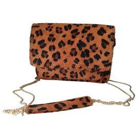 One step-Handbags-Leopard print