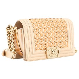 Chanel-Boy chanel-Beige